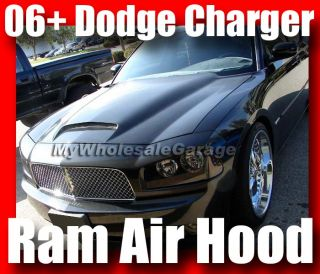 06 07 08 09 Dodge Charger Cowl RAM Air Scoop Hood SRT8