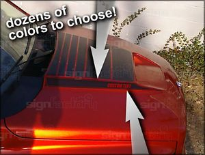 2002 Up Dodge RAM RAM Air Hood Stripe Decal Daytona SRT10 Racing Stripes 2