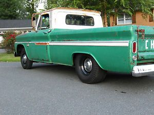 1966 Chevy C10 V8 Long Bed Custom Solid Nostalgic Shop Truck Pickup