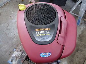Briggs and Stratton 18 HP Vertical Shaft Riding Lawn Mower Engine 31H777