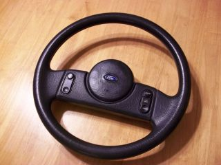 1987 1988 1989 Ford Mustang GT LX 5 0 Dark Charcoal Steering Wheel w Cruise