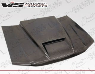 Vis 82 93 Chevy s 10 Carbon Fiber Hood RAM Air