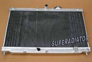 1990 1993 for Honda Accord 2 2L MT Performance Aluminum Radiator 2 Row 1991 1992