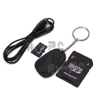 2GB 720 480 Mini Car Key Chain Spy Camera DVR Video Recorder Remote Control HD