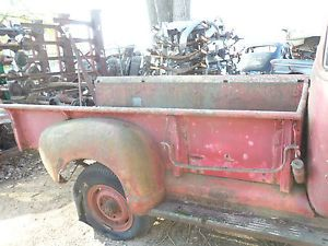 47 48 49 50 51 52 53 Chevy Pickup Truck 9' 9 Foot Box Bed