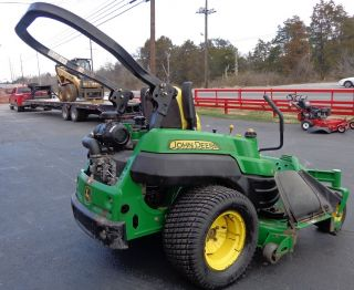 "Used 60"" John Deere Z830A 27 HP Kawasaki Engine Zero Turn Lawn Mower"
