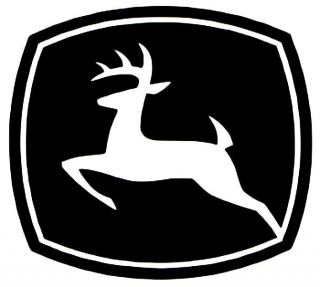 John Deere Logo Vinyl Decal Car Truck Tractor Lawn Mower Window Bumper Sticker