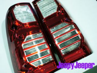 LED Tail Light Lamp Eagle Eye Toyota Hilux MK6 MK7 Vigo Champ SR SR5 2012 Red