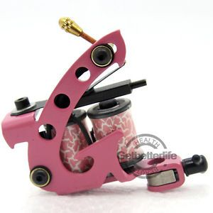 Classical Iron Tattoo Machine Gun Shader Liner 8 Wrap Coils Supplies