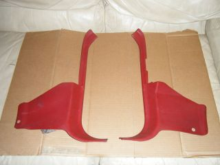 1987 93 Ford Mustang 5 0 Scarlet Red Kick Panel Set GT LX 87 88 89 90 91 92