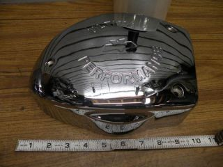 Ultima Air Cleaner Cover Chrome Harley Chopper EVO