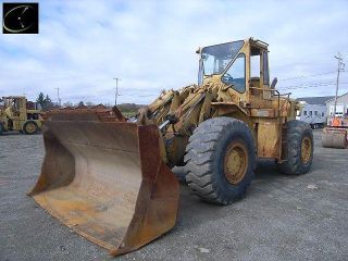 Cat 980B 4 Wheel Loader Caterpillar 980 Rubber Tire Payloader John Deere Case
