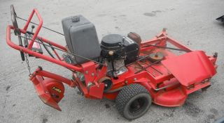 "Used 52"" Walk Behind Toro Zero Turn Lawn Mower 12 5HP Kawasaki Engine"