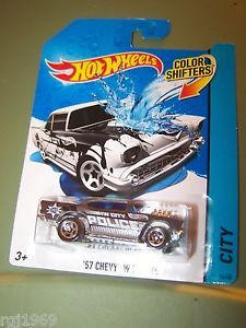 Hot Wheels Color Shifters 57 Chevy w Engine