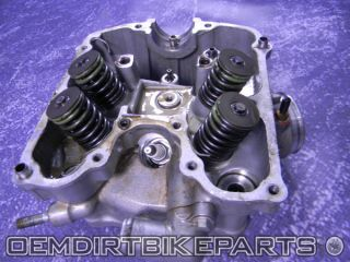 Honda XR650R Cylinder Head Top End Engine Motor 2001 2002 2003 2004 2005 2006 07