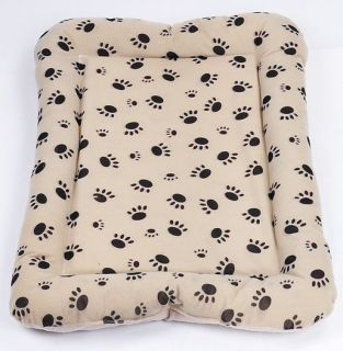 Soft Cozy Pet Dog Puppy Cat Fleece Flat Warm Bed House Plush Cozy Nest Mat Pad