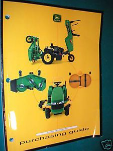 John Deere Grounds Maintenance Equipment Purchase Guide