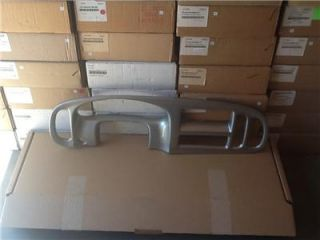 1997 01 Dodge RAM Van Brushed Aluminum Finish Dash Kit