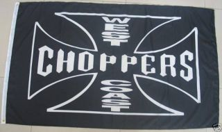 West Coast Choppers Flag 3' x 5' Banner