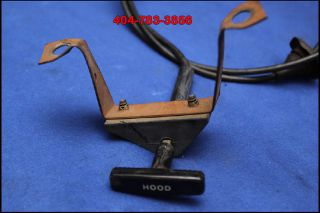 86 87 88 89 90 91 92 93 Ford Mustang Hood Latch Cable 5 0 2 3 GT LX Cobra