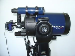 Meade LX90 GPS 8 inch Catadioptric Telescope CCD Color Camera Remote Control WOW
