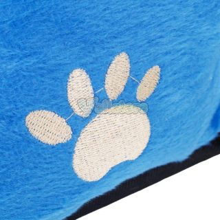 Small Medium Pet Dog Puppy Cat Soft Fleece Cozy Warm Nest Bed House Cotton Mat