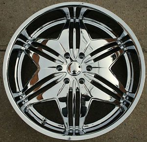 24 Chrome Rims Wheels, Tires & Parts