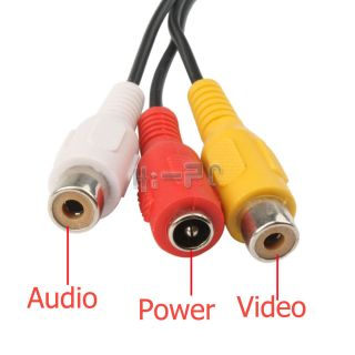 Mini Security Color Video Audio Wired CCTV Camera 380TV