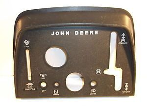 John Deere 317 Garden Tractor Dash Panel Pad Cover Part M80667