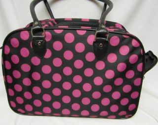 Pet Carrier Small Animal Tote Bag Cat Dog Travel Case New Large Pink Dots