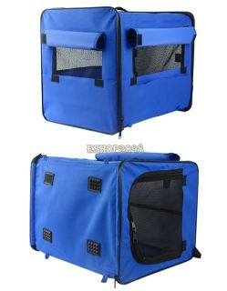 Portable Folding Dog Cat Pet Bed House Soft Carrier Crate Cage Carry Case EP98