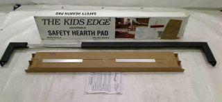 Cardinal Gates Kid's Edge Metal Hearth Guard Brown