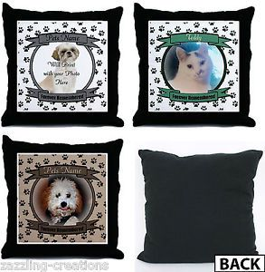 Pet Memorial Pillow Custom Dog or Cat Memorial Throw Pillow Unique Gift