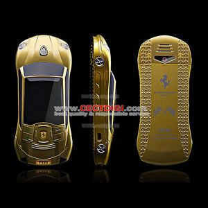F699 Ferrari Car Shape Phone Car Phone Race Car Phone Dual Sim Cards