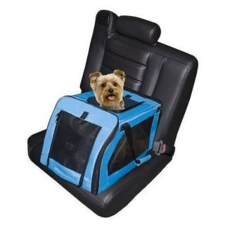 Signature Pet Dog Lookout Car Booster Seat Carrier 24lb
