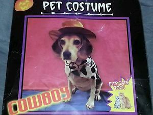 Halloween Cowboy Pet Costume for Dog Cat