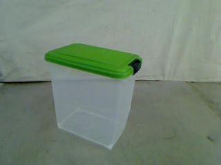 Iris Airtight Pet Food Container Combo Kit Green Black