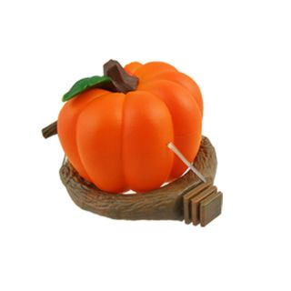 Garden Plastic Feeder Perches Orange Brown for Birds