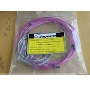 New Cycling Bicycle Bike Jagwire Housing Cable Brake Shifter Kit Purple