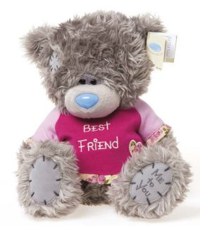 Me to You Best Friend Tatty Teddy Bear Plush Soft Toy 8 inch New Gift