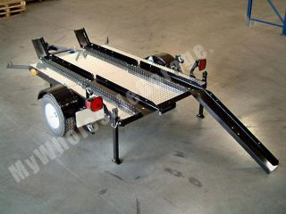 4x6 Folding Stand Up Flatbed Open Utility Trailer Kit