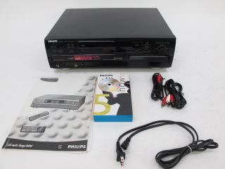 Philips CDR 785 3 Disc CD Changer Recorder