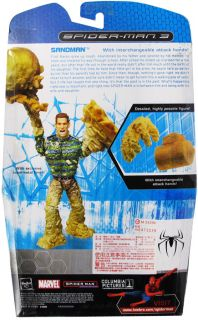 Spider Man 3 Deluxe Action Figure Sandman Limited Edition New 2007