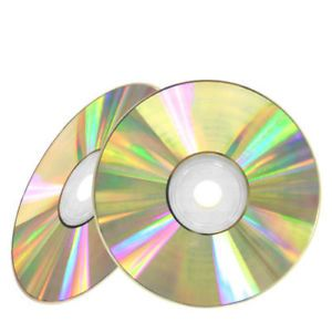 50 52x Shiny Silver Top Blank CD R CDR Recordable Disc