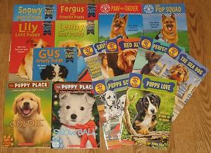 Dogs Chapter Book Lot Puppy Love Place Patrol Tales Police Pup Jenny Dale'S