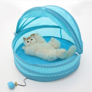 New Fashion PP Cotton Princess Pet Dog Cat Bed Tent House Cute Baskets Nest