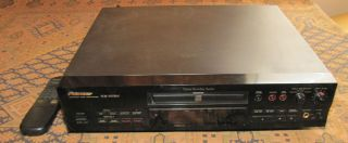 Pioneer PDR 555RW Compact Disc CD Player Recorder Burner