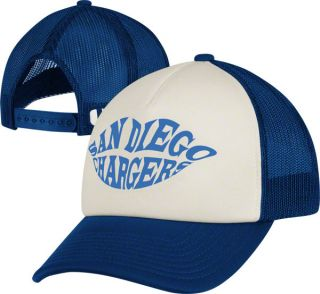 San Diego Chargers Women's Hat Foam Trucker Hat