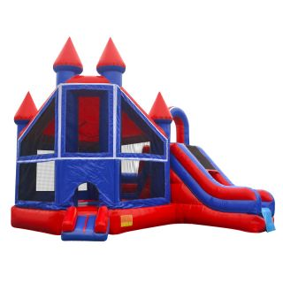 Commercial Grade Inflatable Bounce House Combo Jump Castle Slide RB Fun Fortress