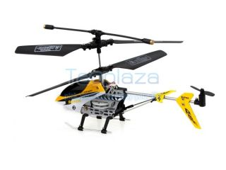 6 inch Mini 2 5 Channel Infrared Remote Control RC LED Toy Helicopter Yellow